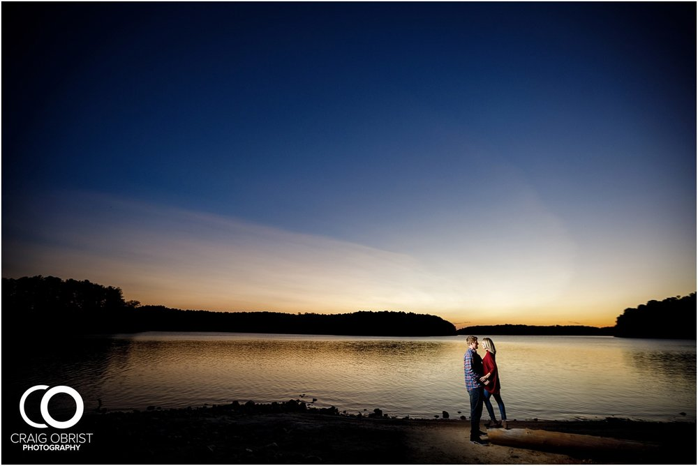 Lake Lanier Chevelle Atlanta Falcons Engagement Portraits_0035.jpg
