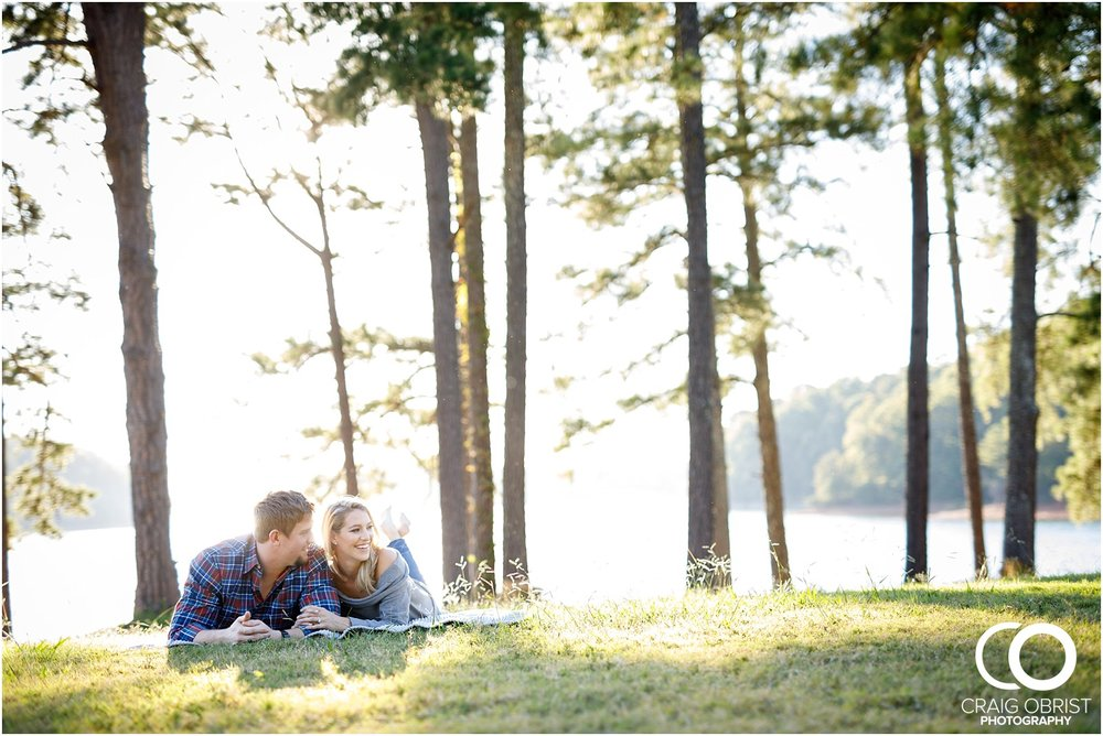Lake Lanier Chevelle Atlanta Falcons Engagement Portraits_0014.jpg