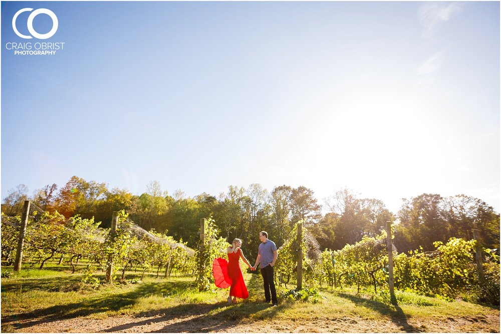 sunflowers fields north georgia engagement portraits wine vineyard_0016.jpg