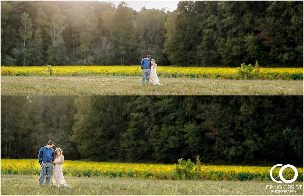 sunflowers fields north georgia engagement portraits wine vineyard_0020.jpg