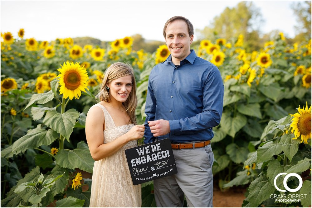 sunflowers fields north georgia engagement portraits wine vineyard_0026.jpg