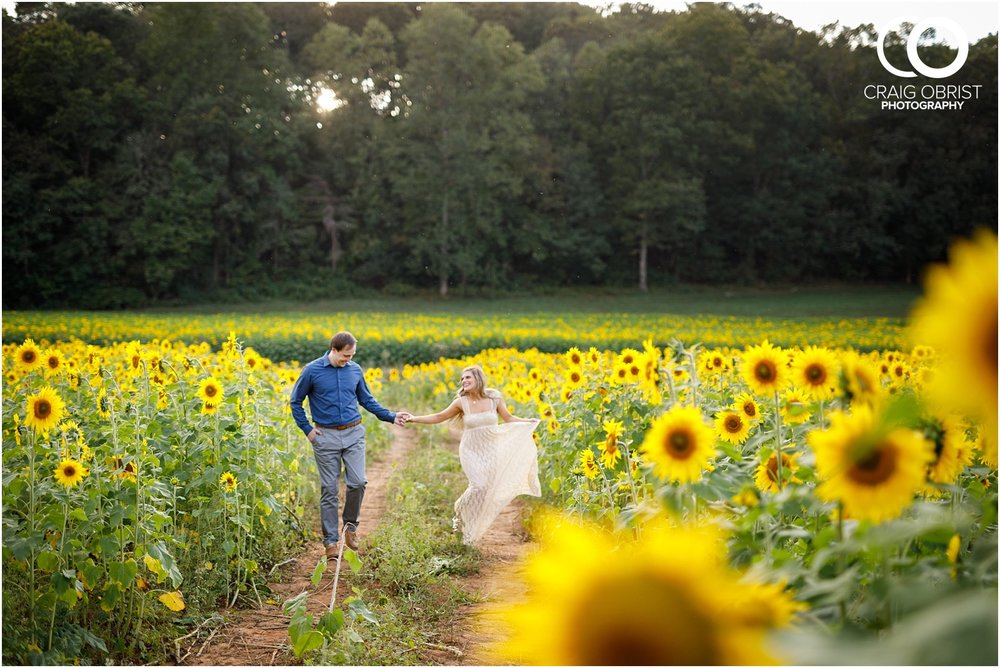sunflowers fields north georgia engagement portraits wine vineyard_0029.jpg