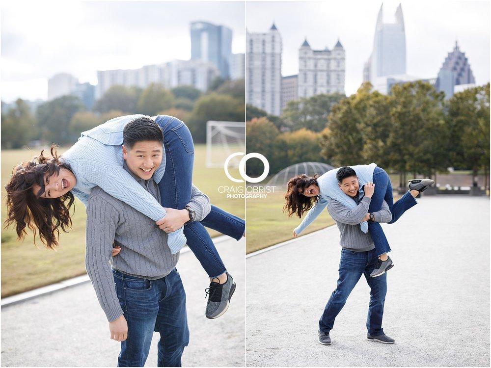 Piedmont Park Atlanta Skyline Engagement Portraits_0008.jpg