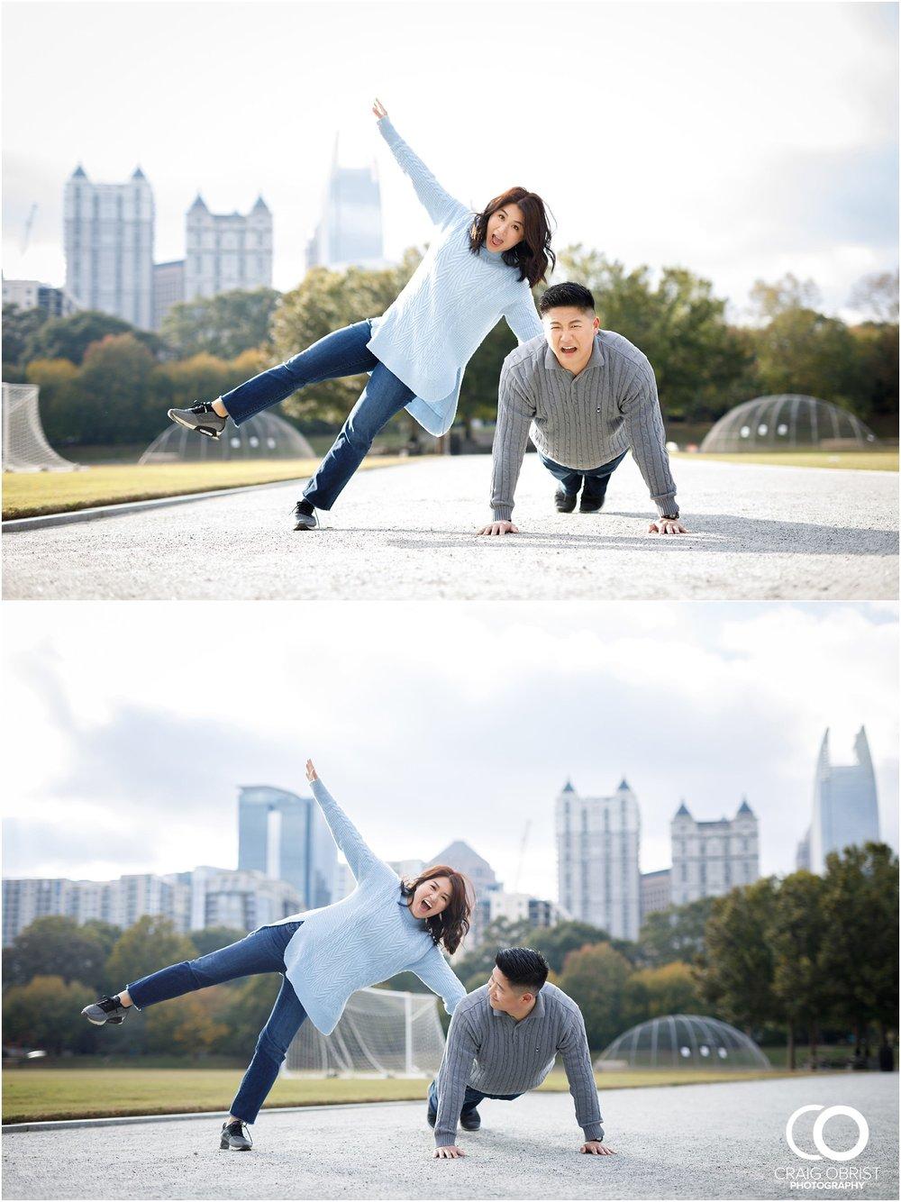 Piedmont Park Atlanta Skyline Engagement Portraits_0007.jpg