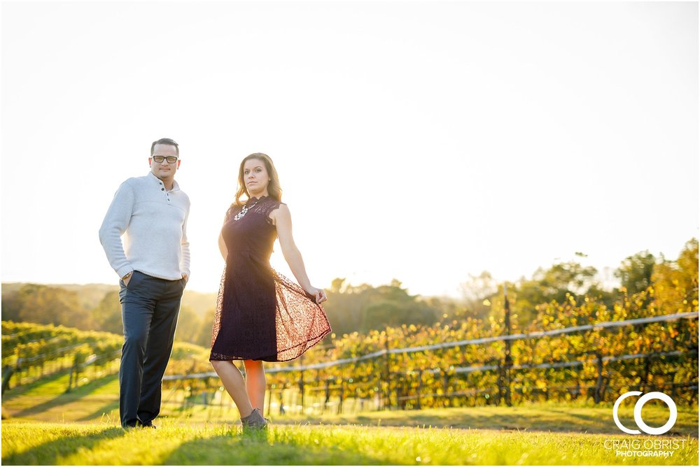 Montaluce Winery Vineyard Georgia Engagement Portraits_0026.jpg