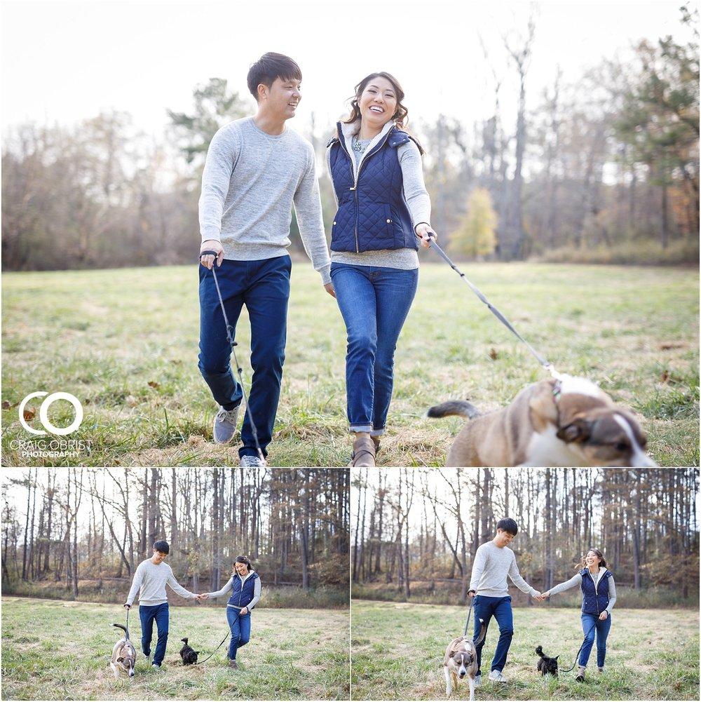 McDaniel Farm Park Rain Engagement Portraits Atlanta_0006.jpg