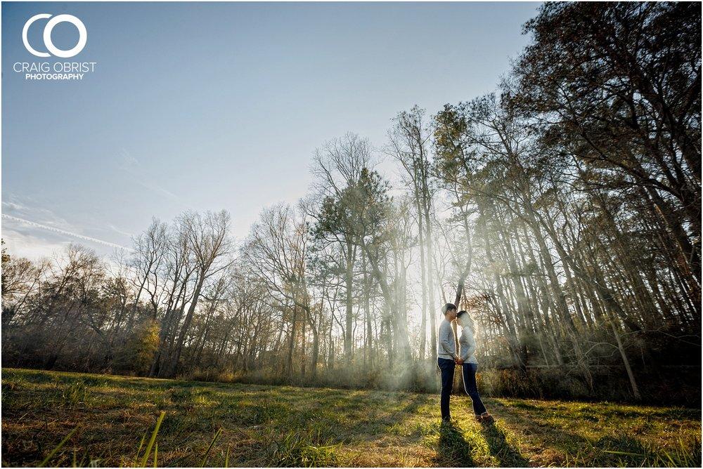 McDaniel Farm Park Rain Engagement Portraits Atlanta_0019.jpg