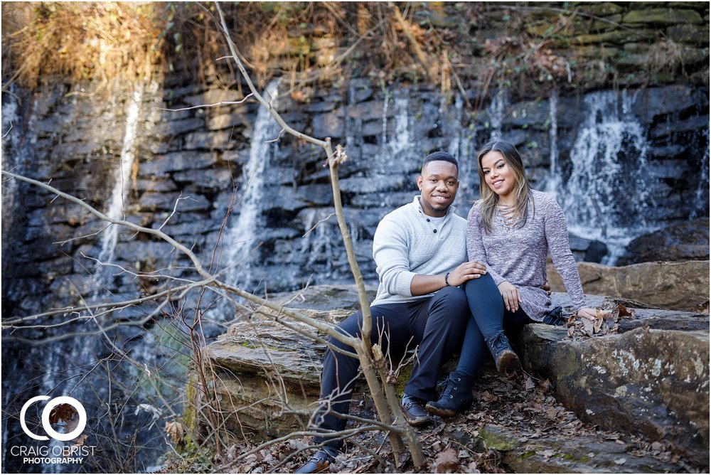 Roswell Mill Waterfall Engagement Portraits Downtown_0003.jpg