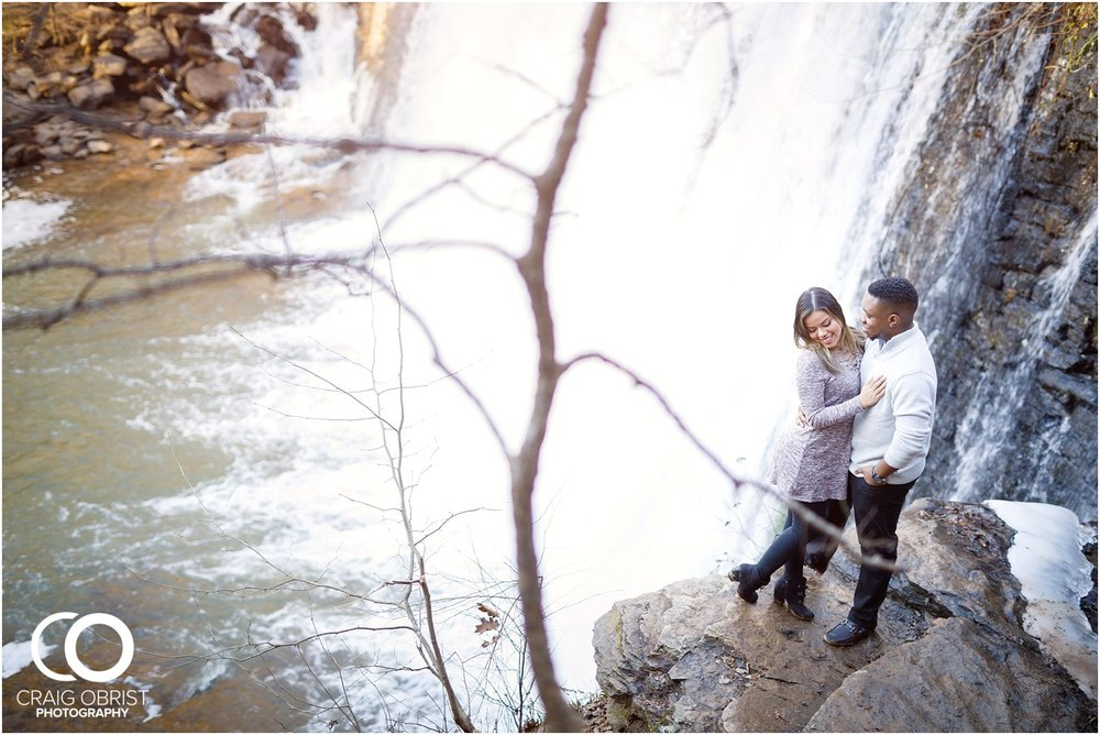 Roswell Mill Waterfall Engagement Portraits Downtown_0007.jpg