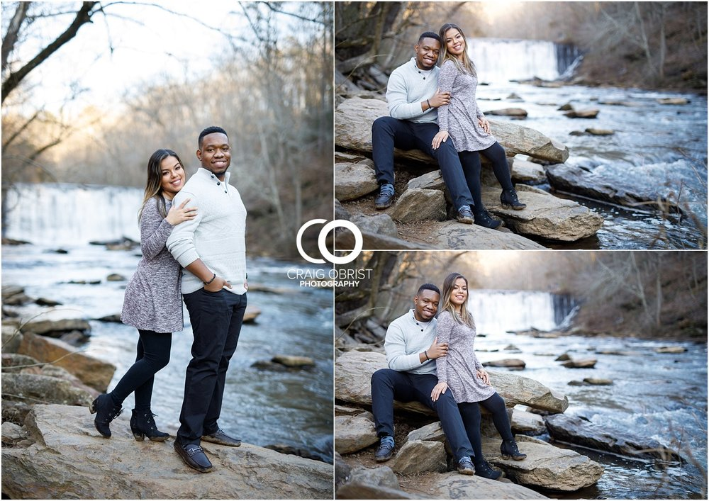 Roswell Mill Waterfall Engagement Portraits Downtown_0012.jpg