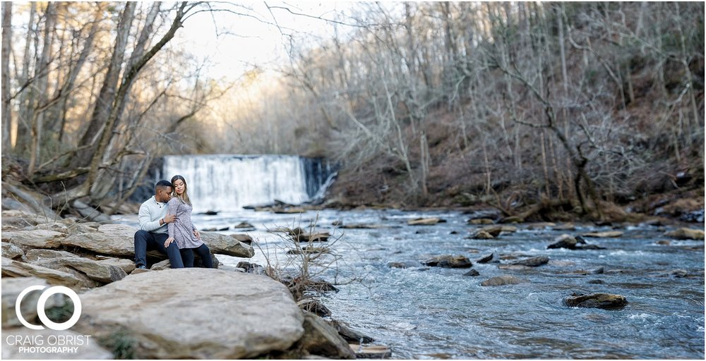 Roswell Mill Waterfall Engagement Portraits Downtown_0013.jpg