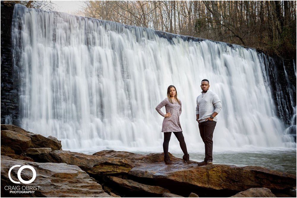 Roswell Mill Waterfall Engagement Portraits Downtown_0015.jpg