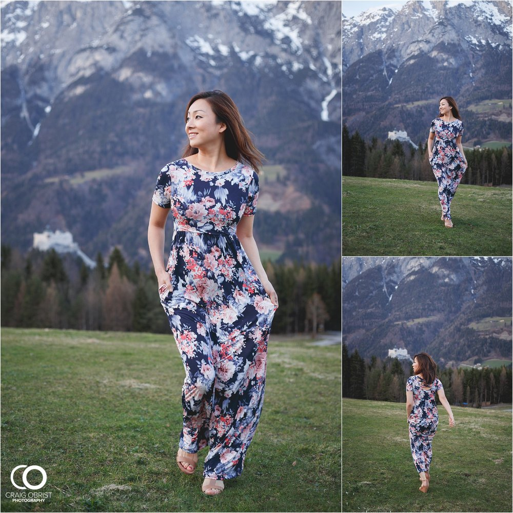 """In Salzburg, Austria.... this is the same spot that Julie Andrews sang """"Do Re Mi"""" from the Sound of Music!"""