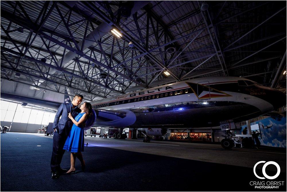 Delta Plane Museum Georgia Egagement Portraits_0005.jpg