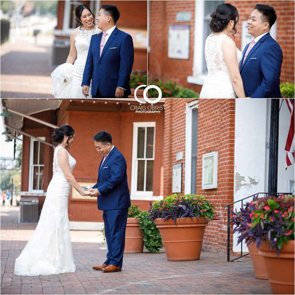 The Brickyard Holy Spirit Catholic Church Marietta Square Wedding Portraits_0012.jpg