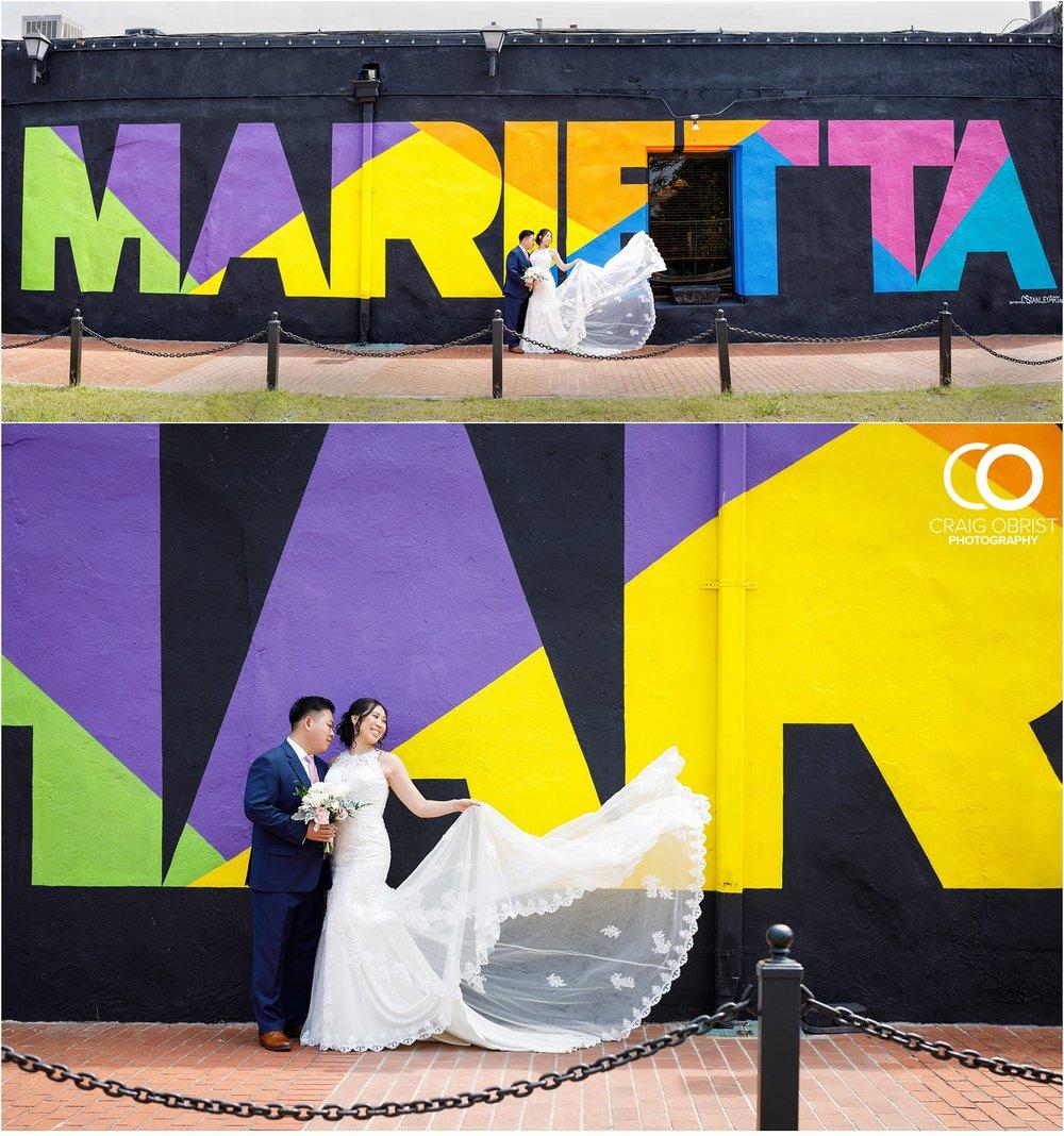 The Brickyard Holy Spirit Catholic Church Marietta Square Wedding Portraits_0021.jpg