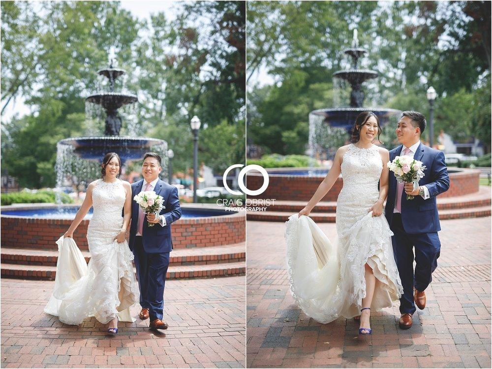 The Brickyard Holy Spirit Catholic Church Marietta Square Wedding Portraits_0035.jpg
