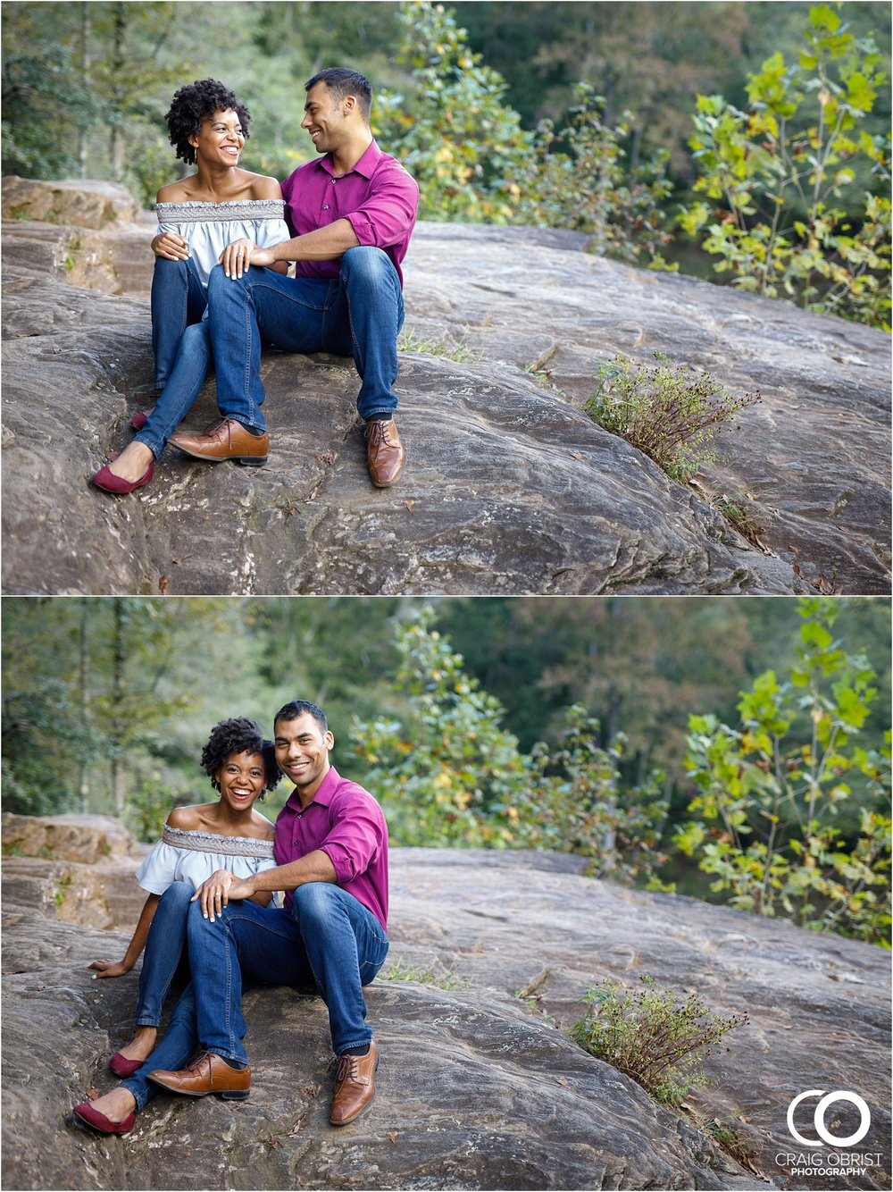 King Queen Sweetwater creek park Engagement Portraits_0001.jpg