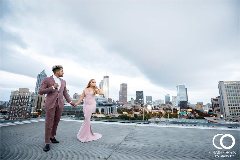 Downtown Decatur Atlanta Skyline Ventanas Helipad Engagement Portraits_0025.jpg