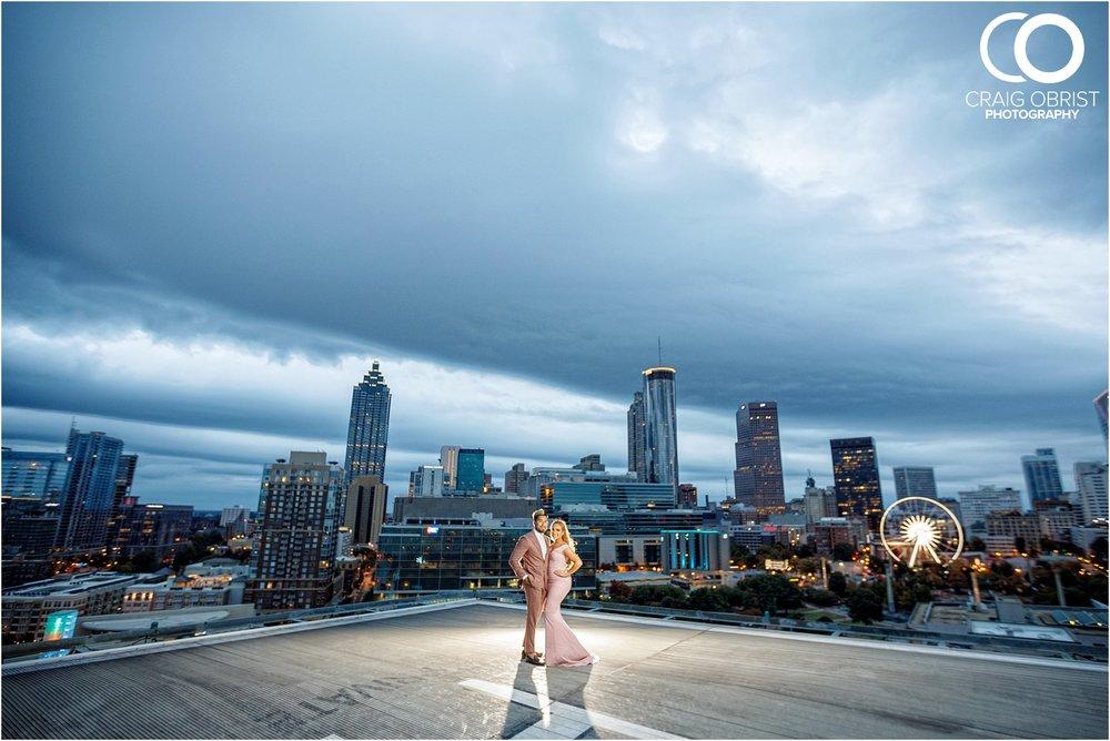 Downtown Decatur Atlanta Skyline Ventanas Helipad Engagement Portraits_0030.jpg