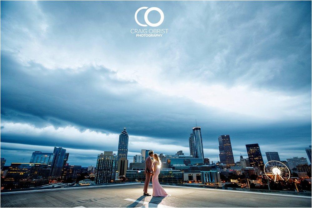Downtown Decatur Atlanta Skyline Ventanas Helipad Engagement Portraits_0031.jpg