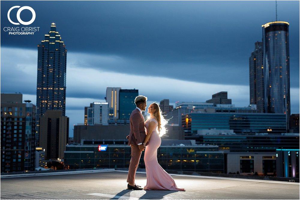 Downtown Decatur Atlanta Skyline Ventanas Helipad Engagement Portraits_0032.jpg