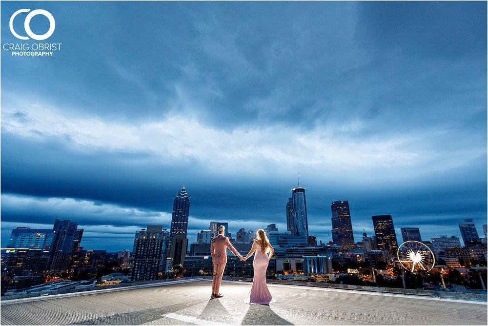 Downtown Decatur Atlanta Skyline Ventanas Helipad Engagement Portraits_0033.jpg