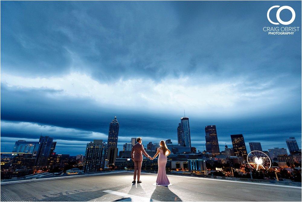 Downtown Decatur Atlanta Skyline Ventanas Helipad Engagement Portraits_0034.jpg