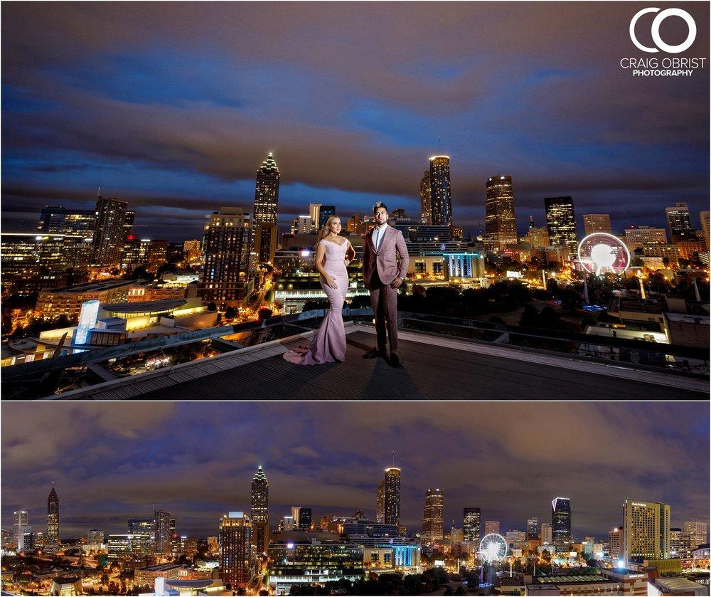Downtown Decatur Atlanta Skyline Ventanas Helipad Engagement Portraits_0037.jpg