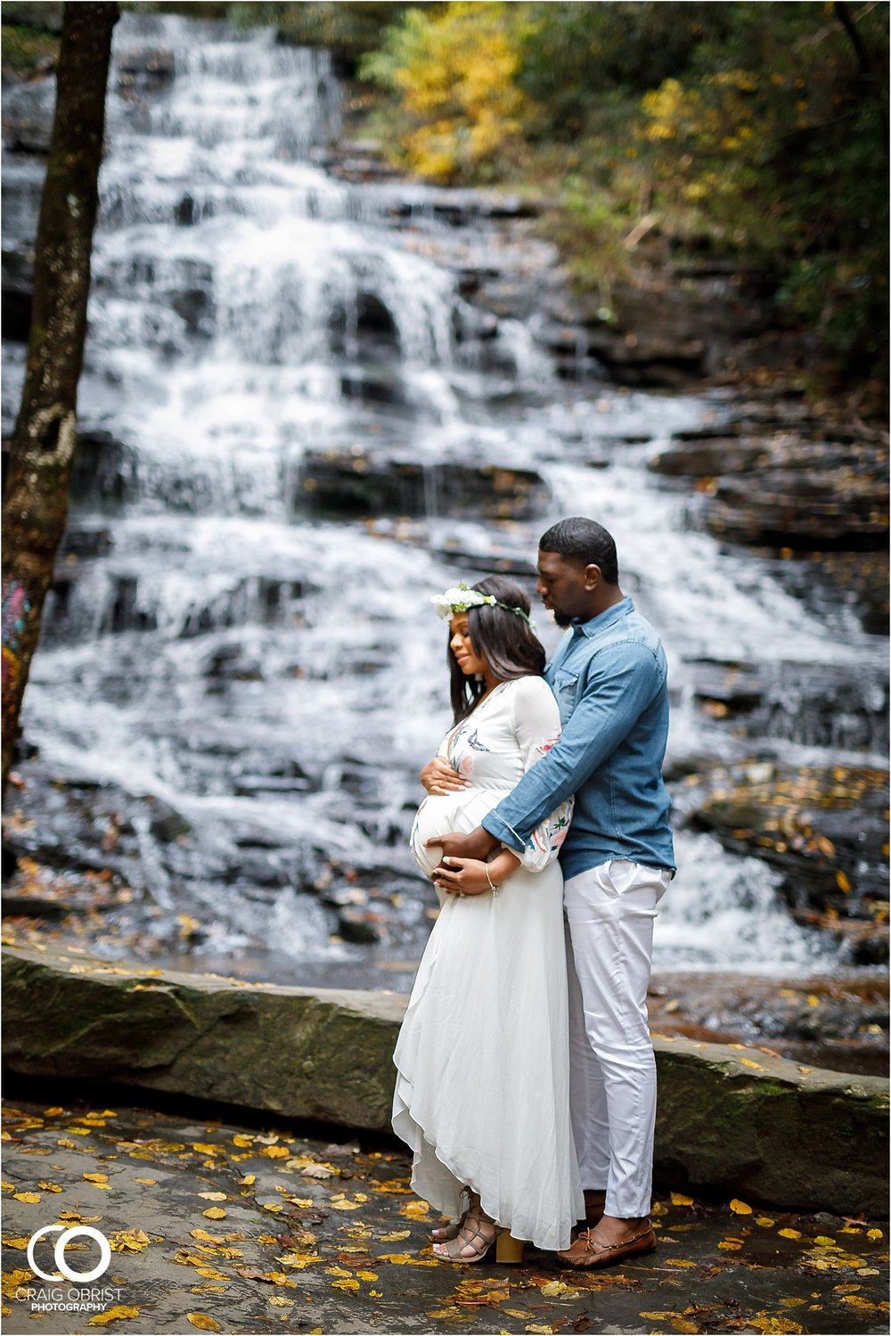 Waterfall Maternity Wedding Portraits North Georgia Atlanta_0002.jpg