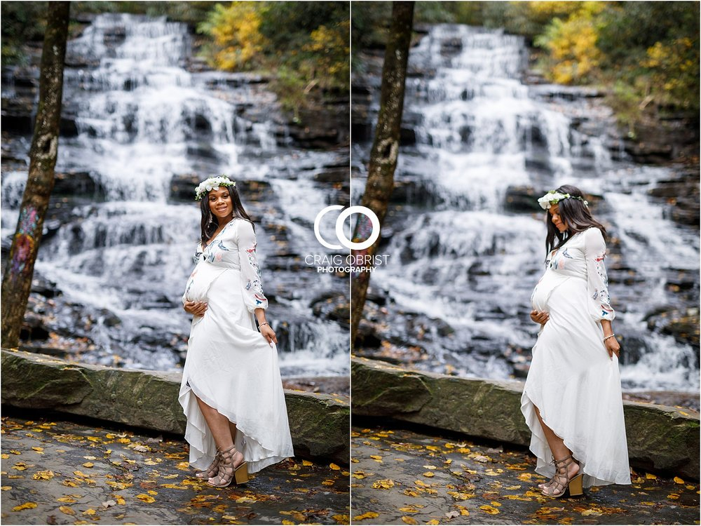 Waterfall Maternity Wedding Portraits North Georgia Atlanta_0004.jpg