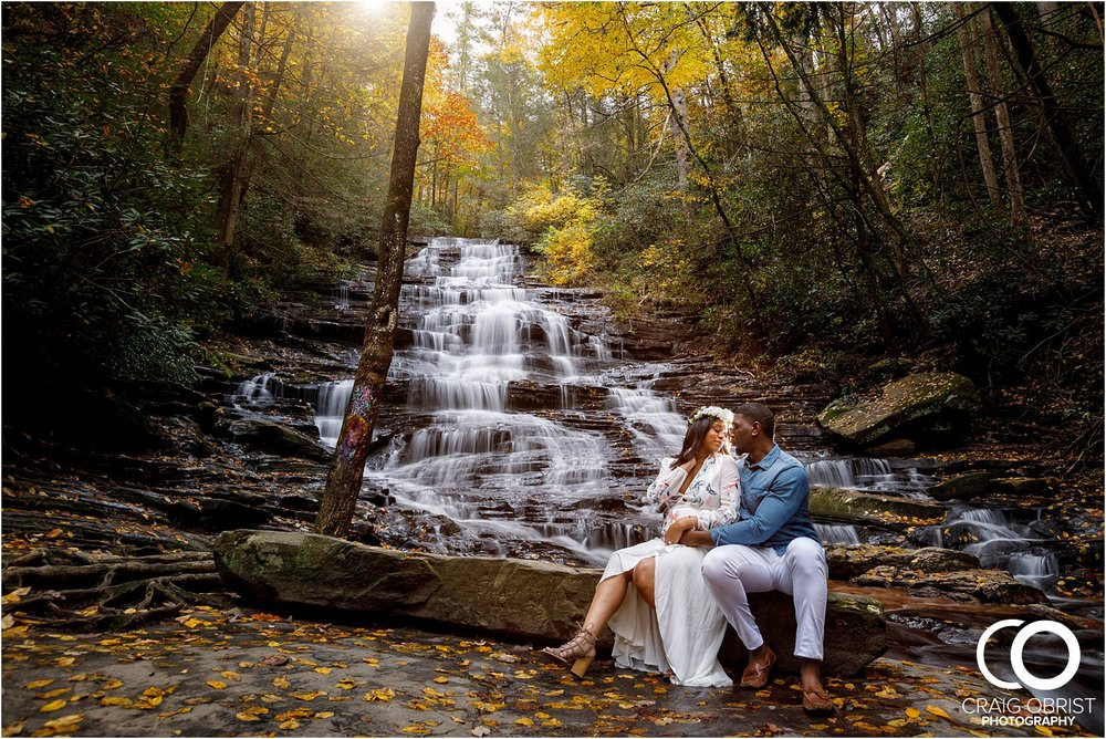 Waterfall Maternity Wedding Portraits North Georgia Atlanta_0005.jpg