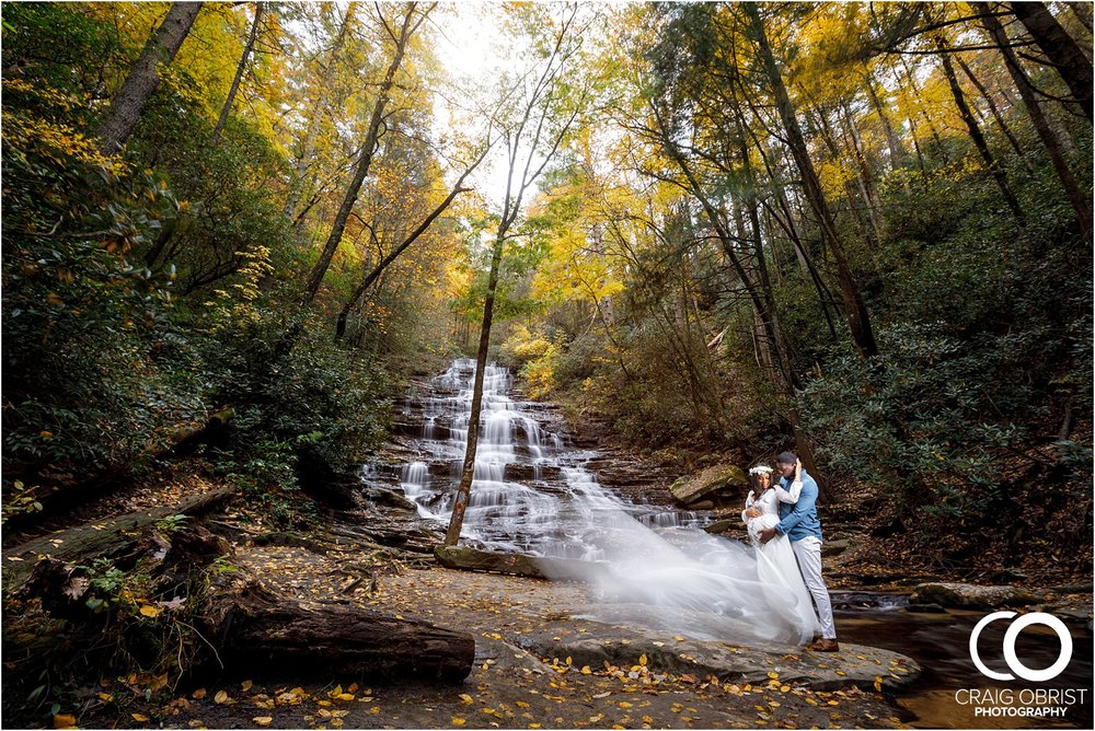Waterfall Maternity Wedding Portraits North Georgia Atlanta_0006.jpg