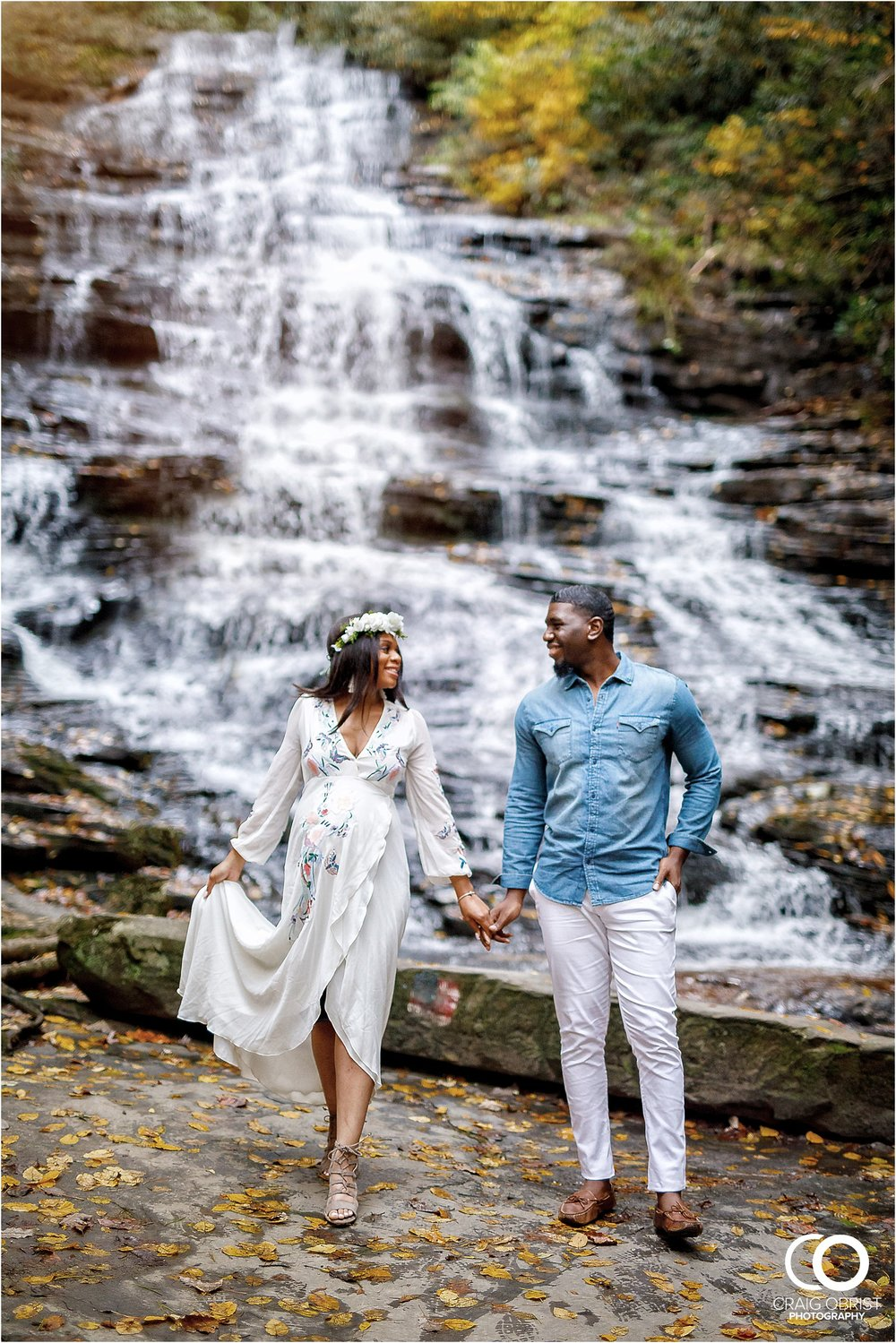 Waterfall Maternity Wedding Portraits North Georgia Atlanta_0008.jpg