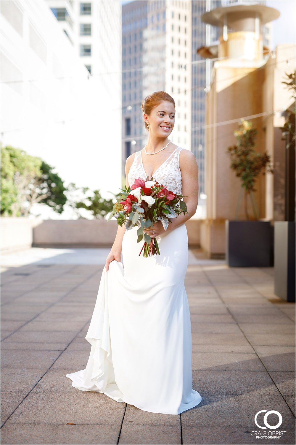 Four Seasons Atlanta Wedding Skyline Portraits 4.jpg