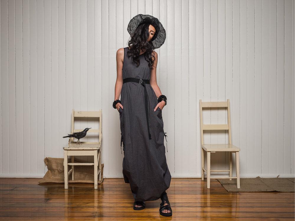 Marmalade dress + Elastic belt