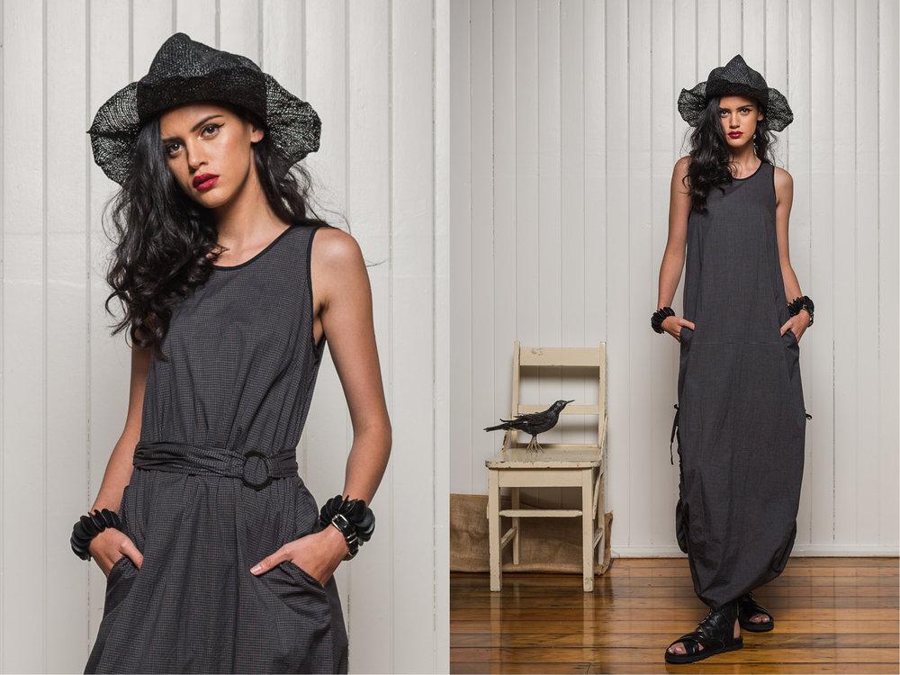 LEFT: Marmalade dress + Fanfare belt RIGHT: Marmalade dress