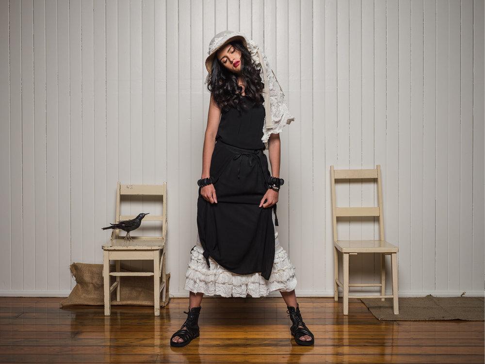 Lila cami + Sarah overlay + Banksii petticoat