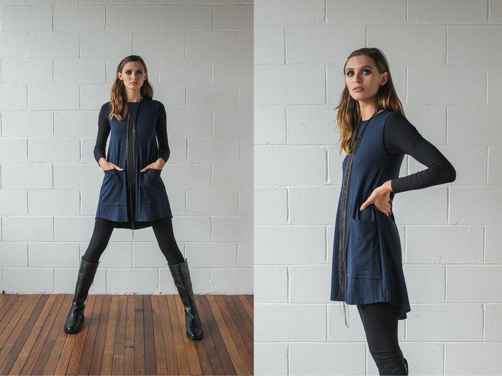 Multitude top, Lanky legs, Nancy dress