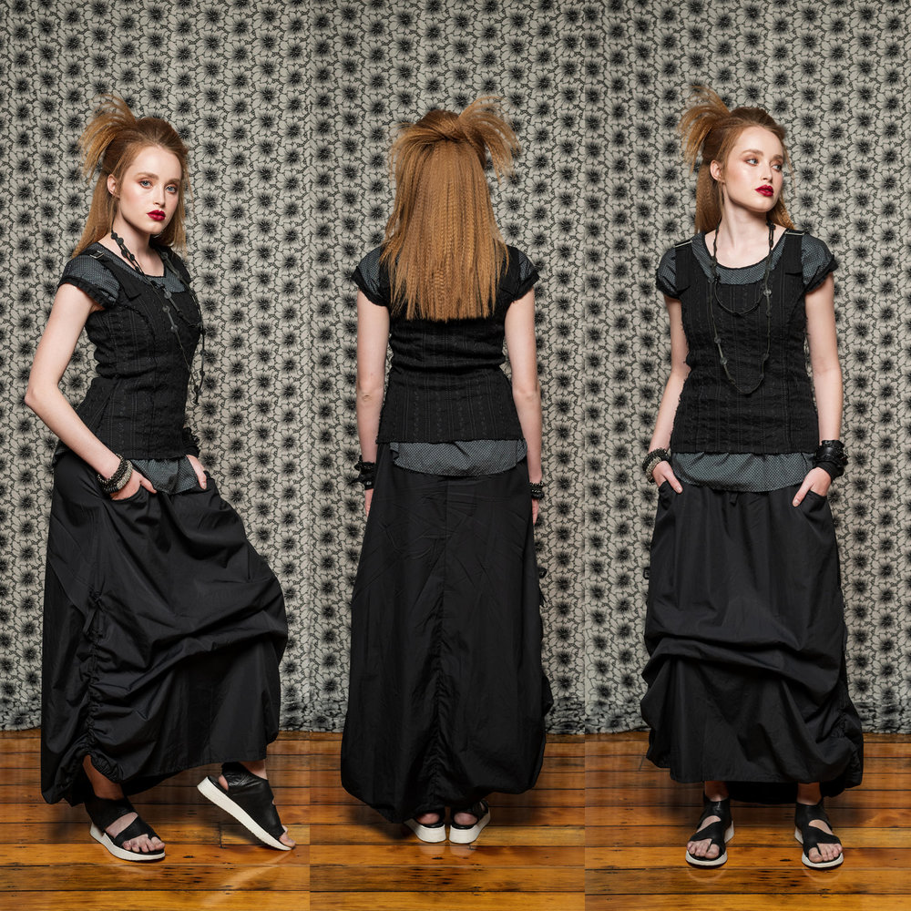 Sylvan Top, Moonlight Top & Marmalade Skirt
