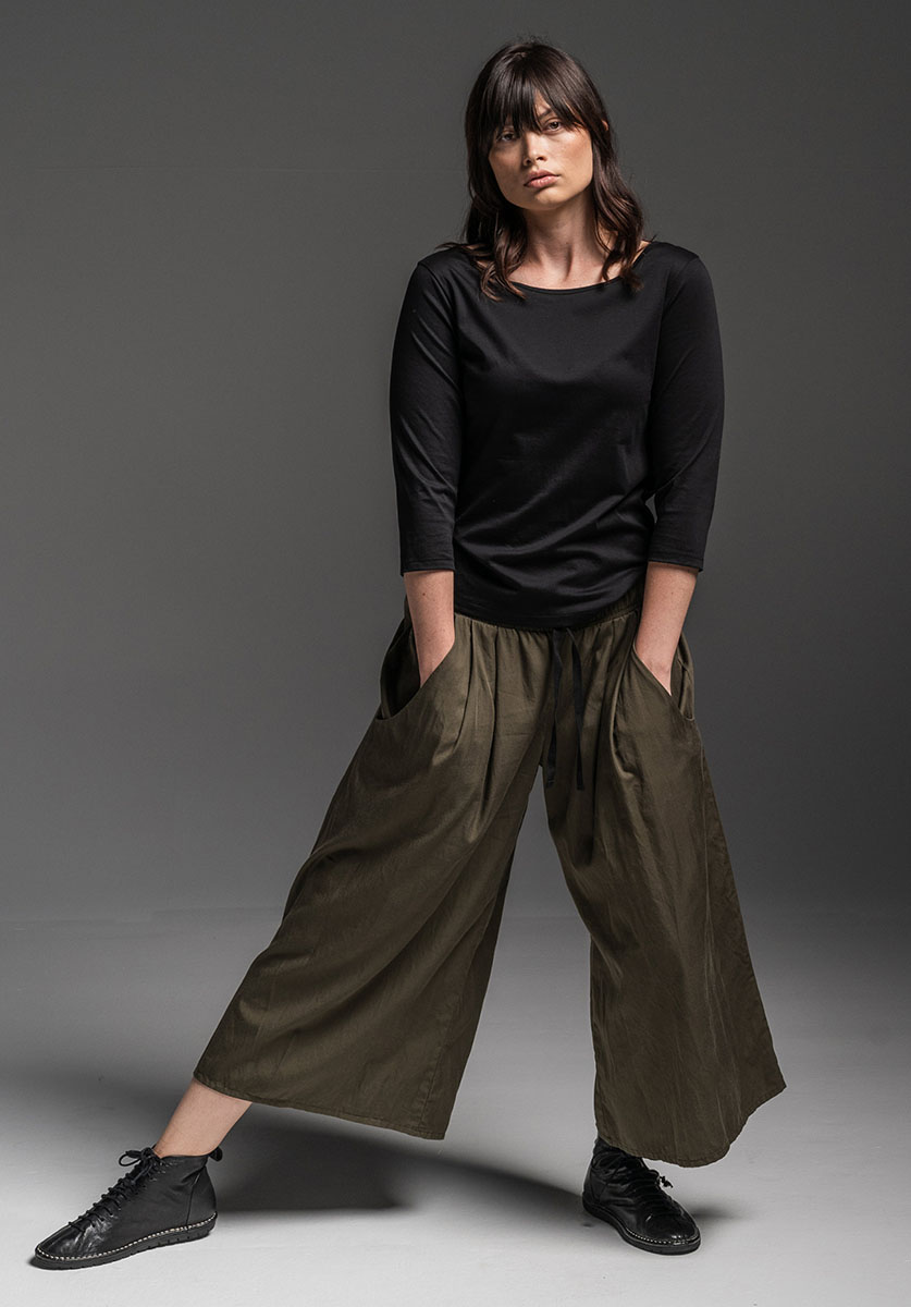 Sibyl 3/4 top + Grove pant