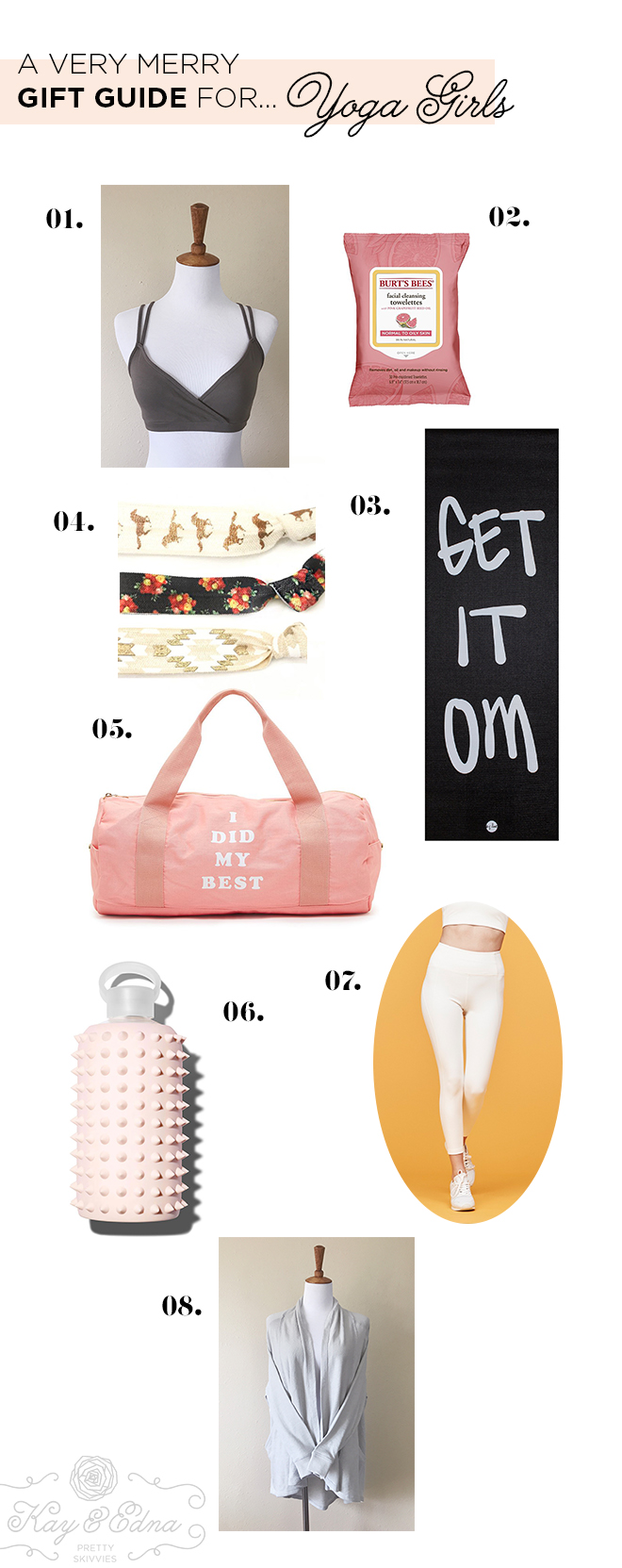 Kay & Edna Gift Guides - Yoga Girls
