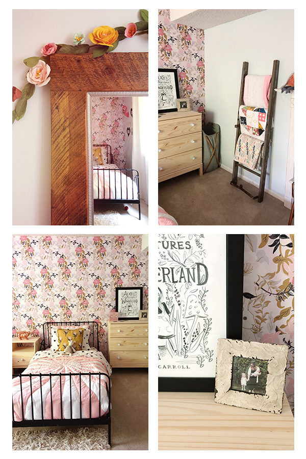 boho chic girls room // Kay & Edna