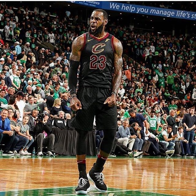 Greatest. Of. All. Time.  Thank you @kingjames for the inspirations for my life. Growing up watching you play is such a privilege. #thisiswhyweplay  #goat #legoat #lebron #lebronjames #thebest #gocavs #easternconferencefinals #easternchamps #greatest #of #all #time #nba #nbabasketball #nbaplayoffs #2018