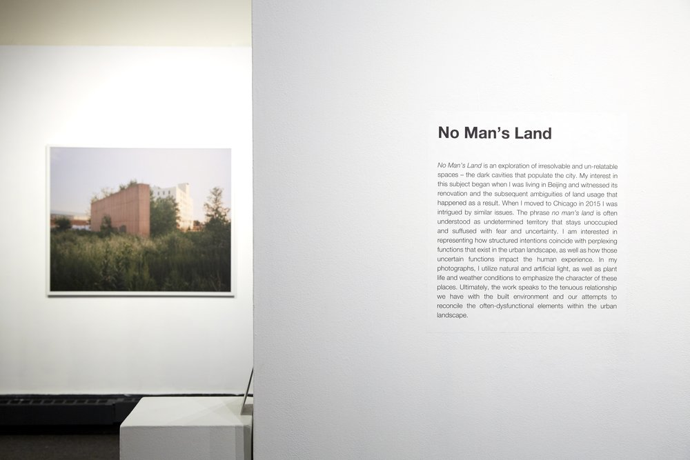 No Man's Land, C33 Gallery, Chicago, IL