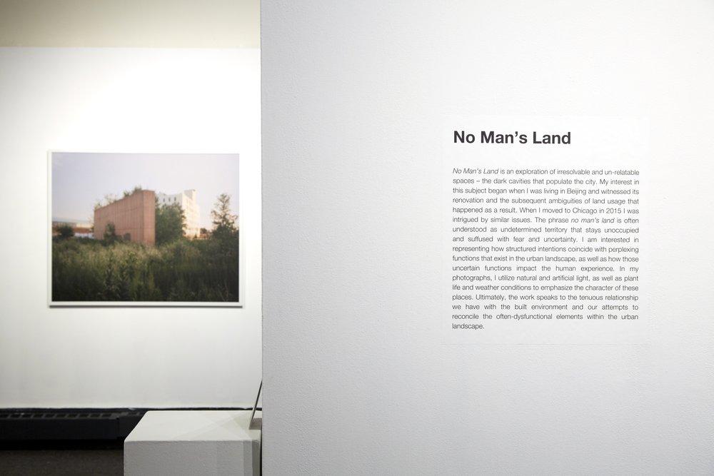 No Man's Land, C33 Gallery, Chicago, IL