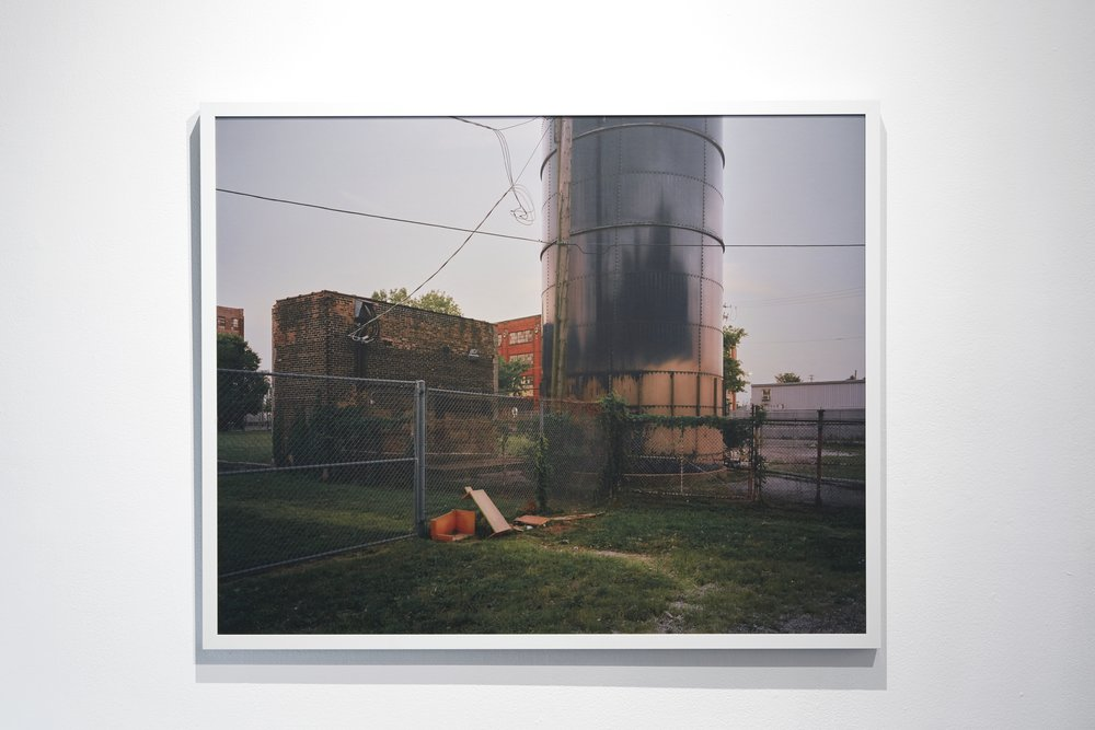 No. 1283 from series No Man's Land, 32 x40 inches, framed.
