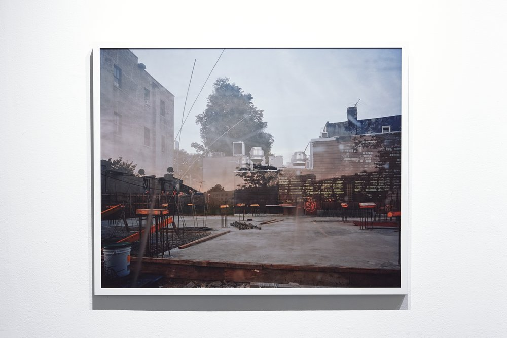 No. 1290 from series No Man's Land, 32 x 40 inches, framed.