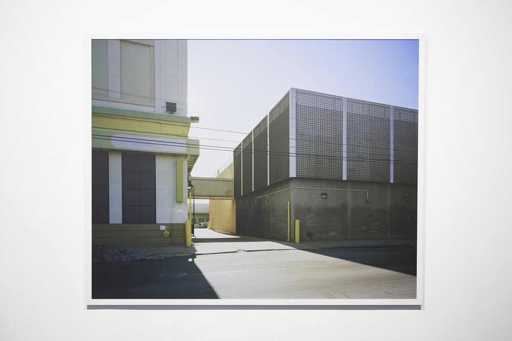 No. 1256 from series No Man's Land, 40 x 50 inches, framed.