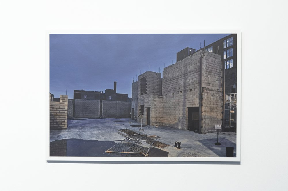 No. 1238 from series No Man's Land, 28 x 42 inches, framed.